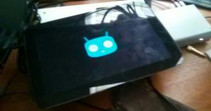 Nexus 10 boots up again, after a long slumber